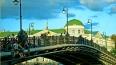 В Москве угроза обрушения моста рядом с Болотной набереж...