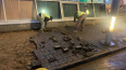 """Чиновники подтвердили, что часть плитки у метро """"Приморс ..."""