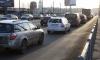 Васильевский остров вновь в транспортной блокаде