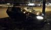 На Бухарестской делимобиль влетел в дерево: водитель скрылся