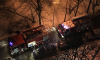 На Купчинской улице ночью спасатели тушили пожар в мусоропроводе жилого дома