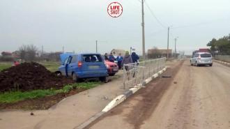 В Крыму 12-летний мальчик за рулём Mitsubishi сбил пенсионера на велосипеде