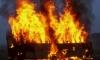 На Софийской сгорел пассажирский автобус