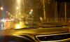 В Петербурге неадекватный водитель Mercedes устроил ДТП, а затем сбежал в парк