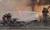 На Васильевском острове из горящего завода имени Козицкого эвакуируют людей