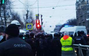 В Петербурге планируют провести митинг в поддержку ...