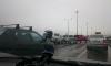 Паровозик из пяти машин на КАД: вокруг места аварии собралась пробка