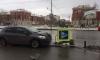 ДТП: В Челябинске автомобиль протаранил светофор и въехал в пешехода