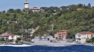 Франция направила в Черное море военный корабль для поддержки Украины