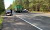 В аварии в Ленобласти погиб байкер и пострадали три человека