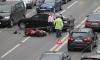 СМИ: VIP-водитель, сбивший байкера в Москве, на глазах ДПС снял «блатные» номера
