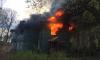 Дача Университета профсоюзов на Суздальских озерах полностью выгорела