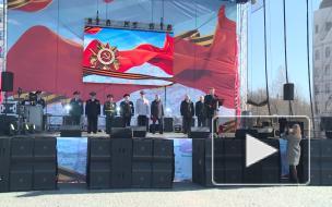 Видео: Выборг отметил День Великой Победы