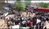 Появилось видео с места падения МиГ-27 на жилые дома в Индии