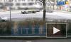 """Видео: Мотоциклист влетел в """"ГАЗель"""" на Большой Пороховской улице"""
