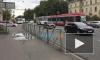 Видео: на Энгельса две иномарки столкнулись на трамвайных путях