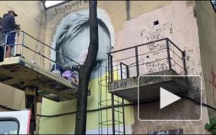 Стрит-арт с лидером Prodigy показали в Петербурге