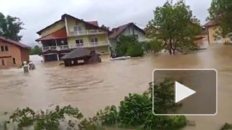 Наводнение в Сербии: фото и видео шокируют, два человека погибли, два пропали без вести
