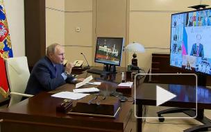 Путин пообещал привиться от коронавируса 23 марта