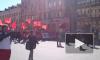 На Дворцовой площади в Петербурге задержали 20 человек