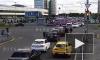 """Видео: у метро """"Беговая"""" в результате ДТП перевернулась иномарка"""