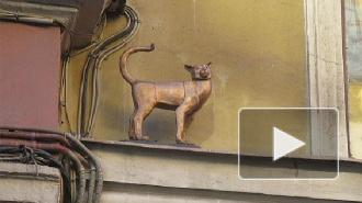 Найден пропавший памятник блокадной кошке Василисе