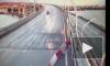 Видео: на ЗСД KIA разбилась всмятку о машину дорожных рабочих