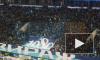 """Видео: Болельщики """"Зенита"""" и """"Динамо"""" одновременно покинули стадион в Петербурге"""