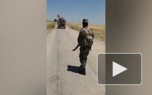 Сирийские военные не пропустили американскую колонну в Эль-Хасаке