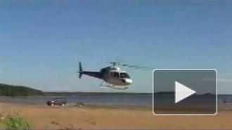 Стали известны подробности падения вертолета в Финский залив в Петербурге