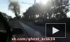 Появилось видео горящего автобуса с пассажирами в Красноярске