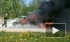 В Ленобласти дотла сгорел автомобиль
