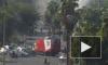 Видео взрыва автобуса в Тель-Авиве