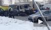 Появилось видео с жуткой аварией на Маршала Жукова