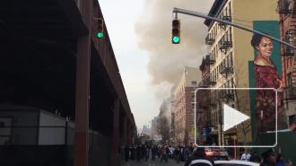 Страшный взрыв в Нью-Йорке 12.03.2014: число жертв растет и может превысить 20 человек, напоминая о трагедии 9/11