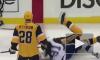 Видео: Малкин жестко подрался на льду во время матча НХЛ
