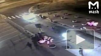 В сети появилось видео избиения рэпера Гнойного