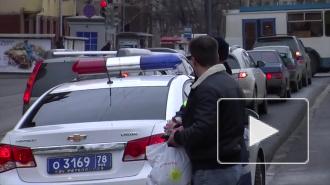 ДТП в Санкт-Петербурге: пешеход стал жертвой аварии пяти легковушек, на Дворцовой внедорожник влетел в столб