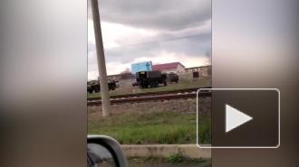 Рядом с украинскими границами в Приднестровье заметили передвижение российских войск