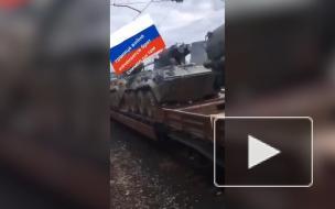 СМИ: Техника ВС НАТО переброшена из Польши, танки Т-90 у российских границ