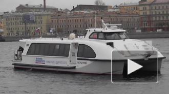Летом в Петербурге будет ходить новый аквабус повышенной комфортности