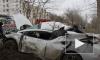 Видео жесткого ДТП: иномарка протаранила дерево в Волгограде