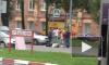 На Витебском все сложно: джип протаранил легковушку, которая сбила пешехода