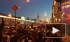 После победы сборной России болельщики толпой прошлись по Невскому