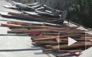 Ноу-хау Красногвардейского района: крыши принимать вместе с жителями
