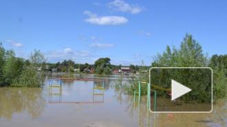 Наводнение в Горно-Алтайске 2014: потоп Затона под Барнаулом попал на видео