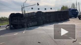 В ДТП с микроавтобусом под Смоленском пострадали 13 граждан Белоруссии