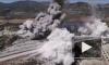 Момент взрыва во время движения турецкого военного конвоя в Идлибе попал на видео