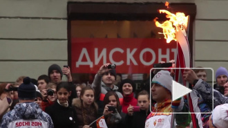 Злоключения олимпийского огня в Петербурге