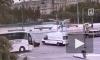 Škoda и скорая не поделили дорогу на перекрестке Ленинского и Московского проспектов